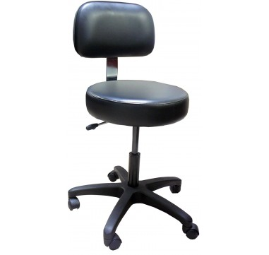 Ophthalmic Stool with Back rest Nu-Matic